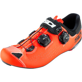 Sidi Genius 10 Schoenen Heren, black/red fluo
